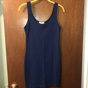 Forever 21 Navy Blue Bodycon, Stretchy